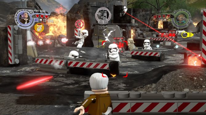Test de lego star wars le r veil de la force wii u ps4 xbox one xbox 360 playstation 3 - Personnage de starwars ...