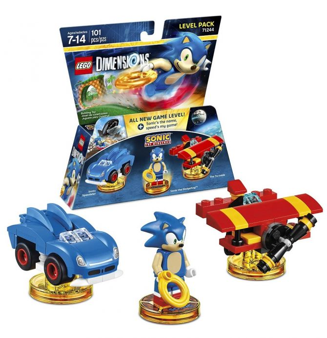 Image LEGO Dimensions : Sonic The Hedgehog Level Pack