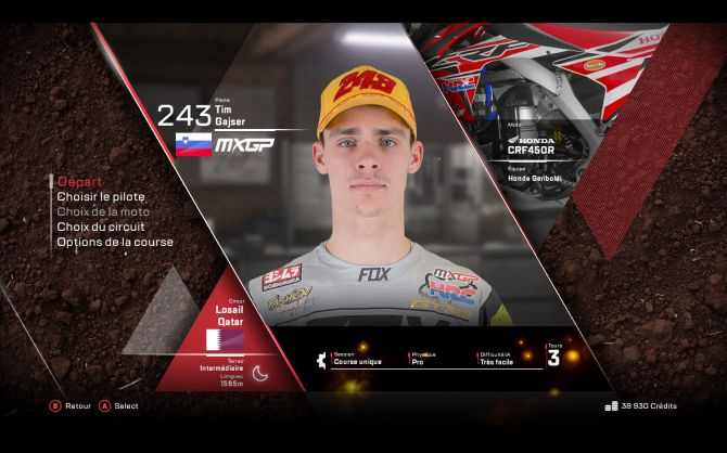 Image MXGP 3 : The Official Motocross Videogame