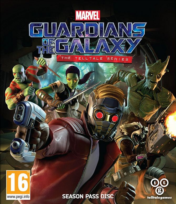 Image Guardians of the Galaxy The Telltale Series - Episode One : Tangled Up in Blue