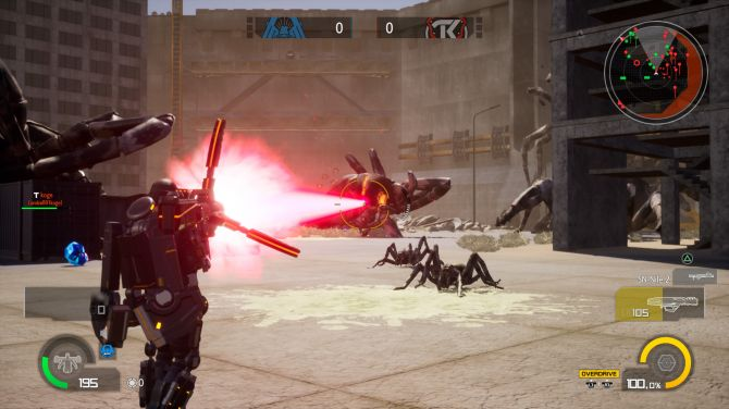Image Earth Defense Force : Iron Rain