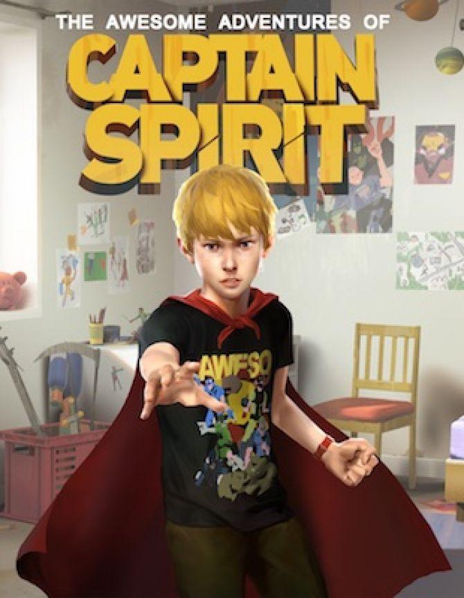 Image Les Aventures Extraordinaires de Captain Spirit