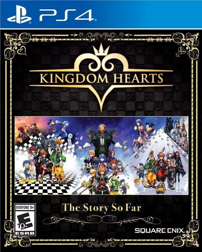 Image Kingdom Hearts : The Story So Far
