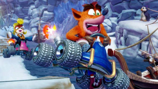 Crash Team Racing Nitro-Fueled montre ses bonus de précommande en vidéo