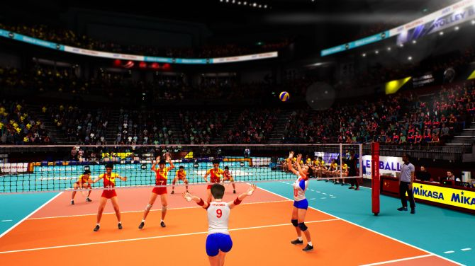 Image Spike Volleyball