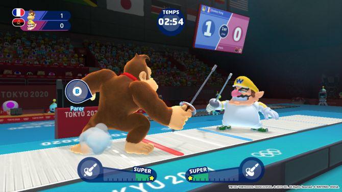 Test De Mario Sonic Aux Jeux Olympiques De Tokyo 2020