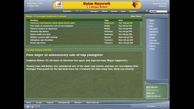 Image Football Manager 2006