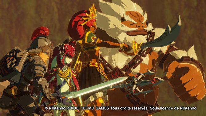 Test De Hyrule Warriors L Ere Du Fleau Nintendo Switch