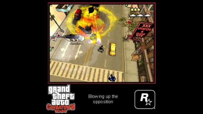 test grand theft auto chinatown wars ds. Black Bedroom Furniture Sets. Home Design Ideas