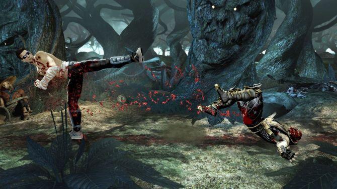 mortal combat jeux