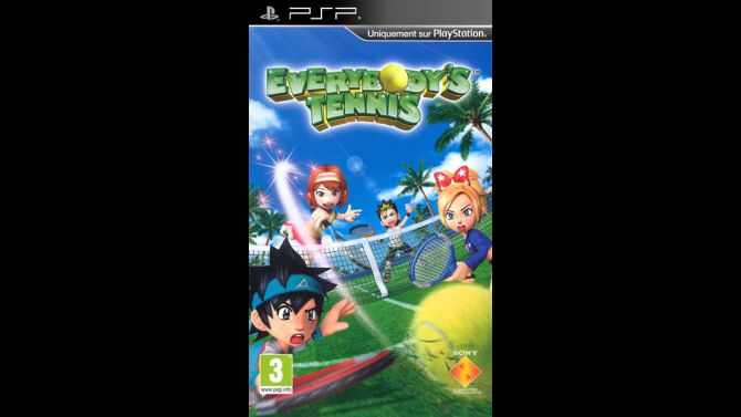 Image Everybody's Tennis Portable