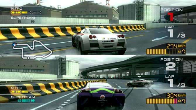 test ridge racer 7 playstation 3. Black Bedroom Furniture Sets. Home Design Ideas
