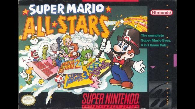 Image Super Mario All-Stars