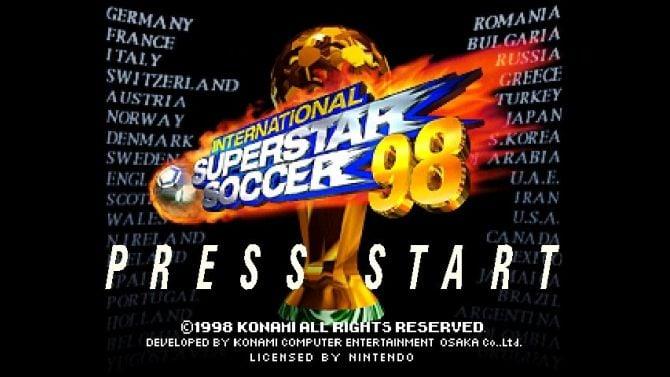 Image International Superstar Soccer 98