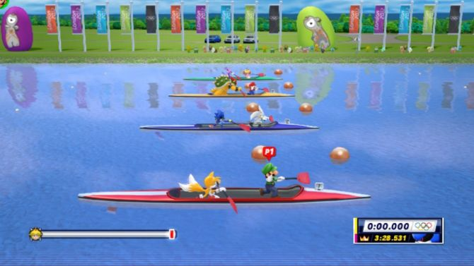 Test Mario Sonic Aux Jeux Olympiques De Londres 2012 Wii