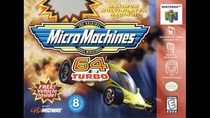 Image Micro Machines 64 Turbo