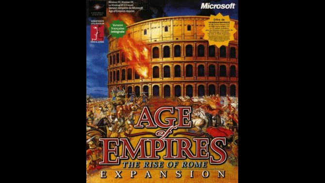 Image Age of Empires : The Rise of Rome Expansion