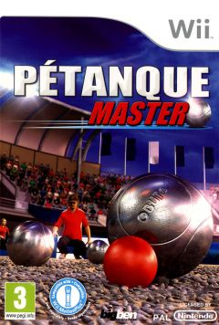 Jaquette de Pétanque Master Wii