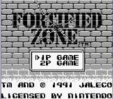 Jaquette de Fortified Zone Nintendo 3DS