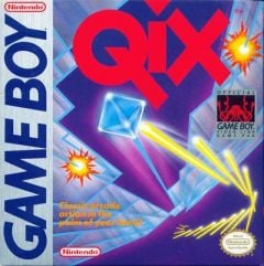 Jaquette de Qix Game Boy