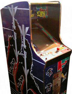 Jaquette de Qix Arcade