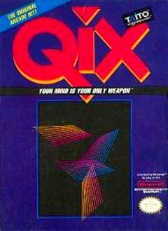 Jaquette de Qix NES