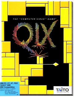 Jaquette de Qix PC