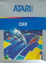 Jaquette de Qix Atari 5200