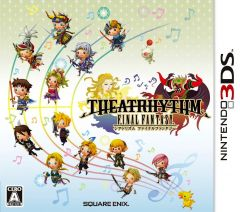 Jaquette de Theatrhythm Final Fantasy Nintendo 3DS