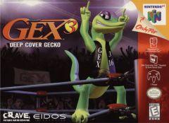 Jaquette de Gex : Deep Cover Gecko Nintendo 64