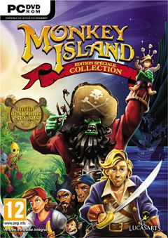 Jaquette de Monkey Island Edition Spéciale : Collection PC