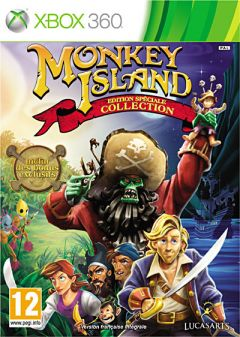 Jaquette de Monkey Island Edition Spéciale : Collection Xbox 360