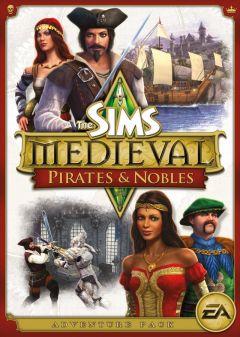 Jaquette de Les Sims Medieval - Nobles et Pirates Mac
