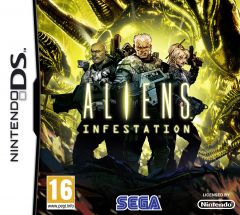 Jaquette de Aliens : Infestation DS
