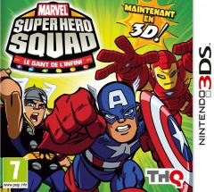 Jaquette de Marvel Super Hero Squad : the Infinity Gauntlet Nintendo 3DS