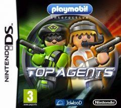 Jaquette de Playmobil Top agent DS