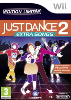 Jaquette de Just Dance 2 : Extra Songs Wii