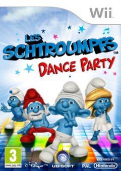 Jaquette de Les Schtroumpfs : Dance Party Wii