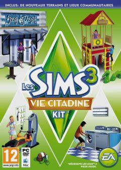 Jaquette de Les Sims 3 : Vie Citadine Kit PC