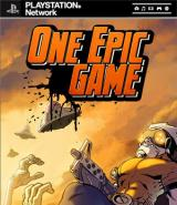 Jaquette de One Epic Game PlayStation 3