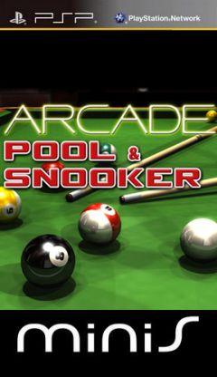 Jaquette de Arcade Pool & Snooker PSP