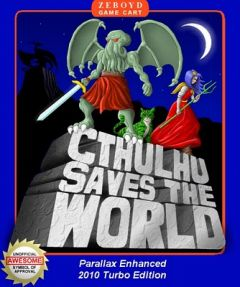 Jaquette de Cthulhu Saves the World PC