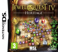 Jaquette de Jewel Quest IV : Heritage DS