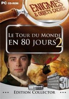 Jaquette de Enigmes & Objets Cachés : Le Tour du Monde en 80 Jours 2 PC