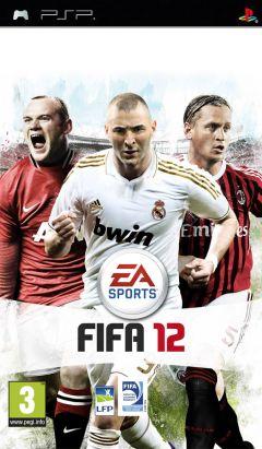 Jaquette de FIFA 12 PSP