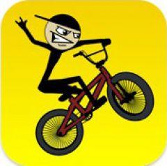 Jaquette de Stickman BMX iPhone, iPod Touch