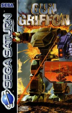Jaquette de GunGriffon Sega Saturn