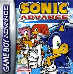 Jaquette de Sonic Advance Game Boy Advance