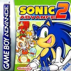 Jaquette de Sonic Advance 2 Game Boy Advance