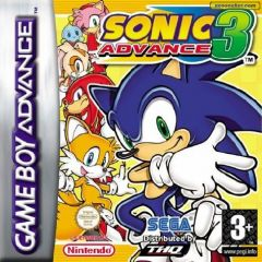 Jaquette de Sonic Advance 3 Game Boy Advance